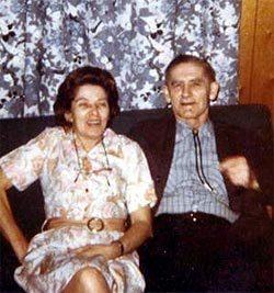 Photo of Betty and Elton Buzby, 1970